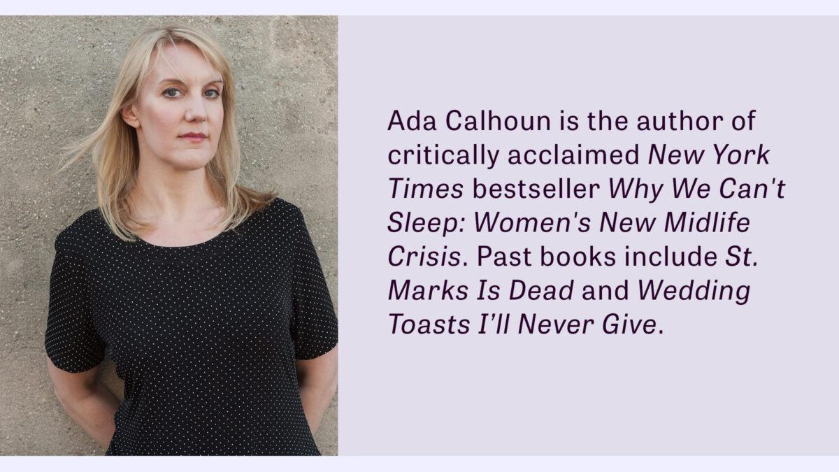 Homepage - Ada Calhoun