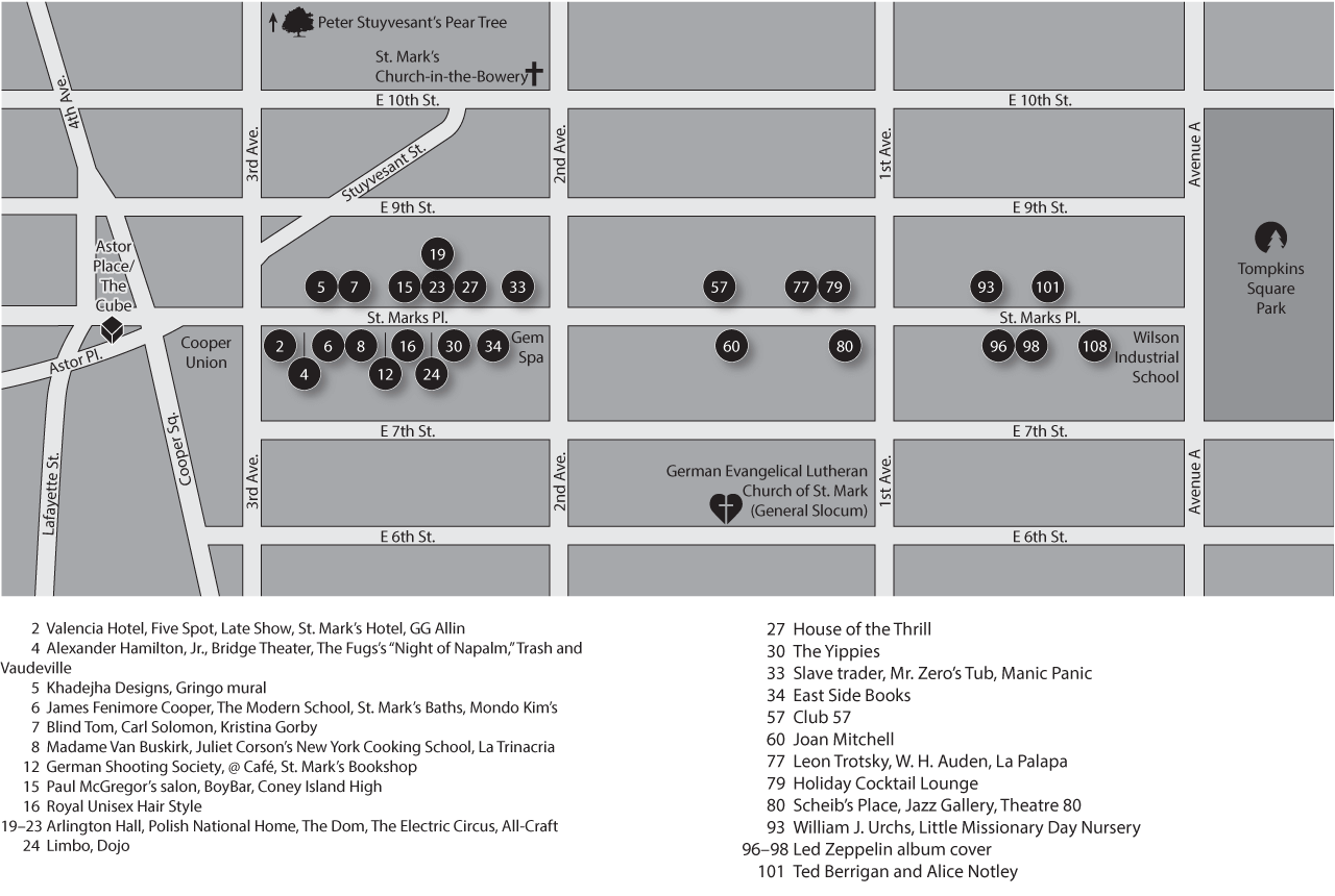 St marks is dead map