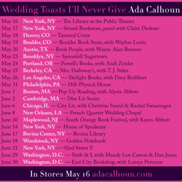Weddingtoasts tour 11