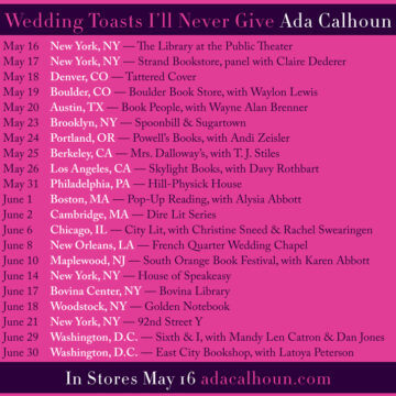 Weddingtoasts tour 12